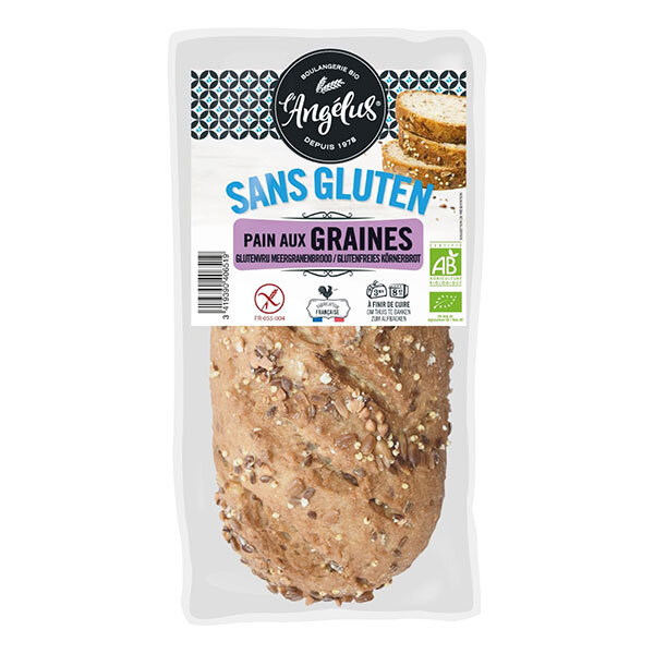 L'Angélus - Pain sans gluten aux graines - 300g