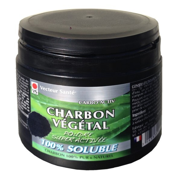 charbon poudre 100 soluble super activ e 150g vecteur sant acheter sur. Black Bedroom Furniture Sets. Home Design Ideas