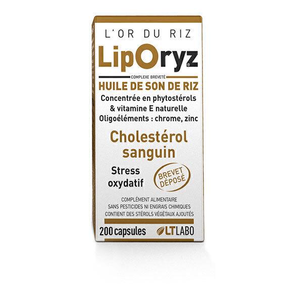 LT LABO - Huile de Son de Riz Liporyz x 200 capsules