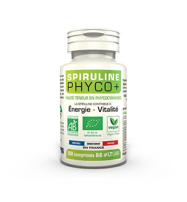 LT LABO - Spiruline Bio Phyco+ x 300 comprimés