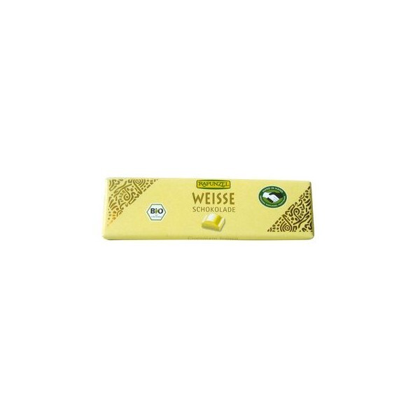 Rapunzel - Barre chocolat blanc 20g BIO