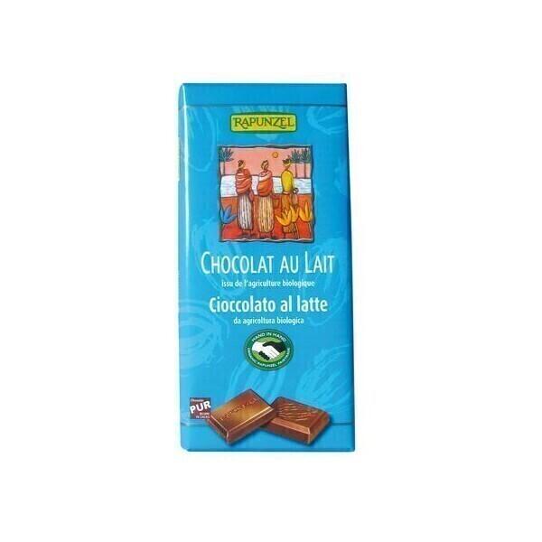 Rapunzel - Chocolat au lait 100g BIO