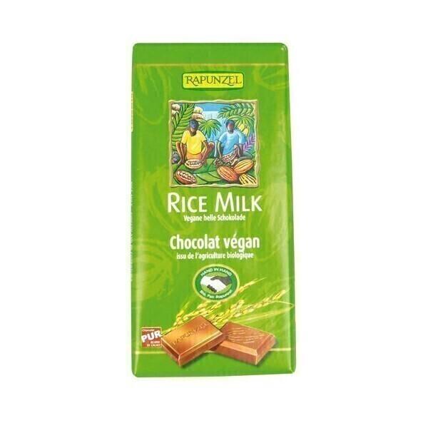 Rapunzel - Chocolat vegan Lait de riz 100g