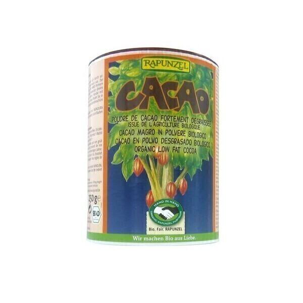 Rapunzel - Poudre de cacao dégraissée Bio - 250 g
