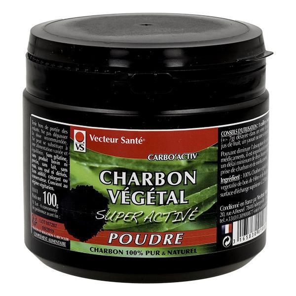 Vecteur Santé - Charbon super activé poudre 100g