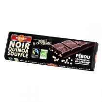 Alter éco - Barre chocolat noir quinoa - 40g