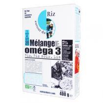Autour du Riz - Riz Mélange Oméga 3 - Sachet de 400g
