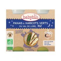 Babybio - Petits pots Bonne Nuit Panais Haricots Verts Riz dès 8m