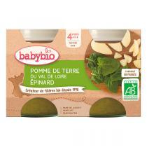 Babybio - Petits potsPomme de terre Epinards dès 4m