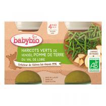 Babybio - Petits potsPomme de terre Haricots Verts dès 4m