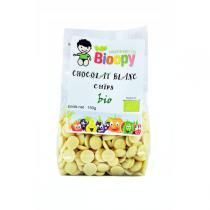 Bioopy - Chocolat blanc chips bio 150g