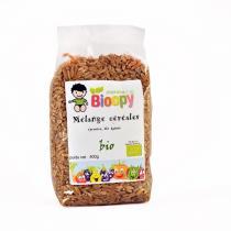 Bioopy - Mélange céréales épeautre, blé, kamut 400g