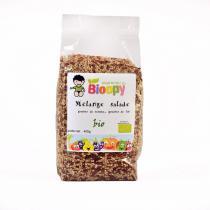 Bioopy - Mélange de graines Spécial salade Bio 400g