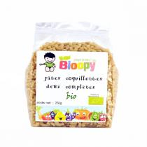Bioopy - Coquillettes demi-complètes bio 250g