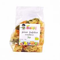Bioopy - Pâtes Farfale tricolores bio 250g