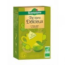 Bonneterre - Thé Blanc Citron Vert Agrumes Sachets Pyramides 35gr