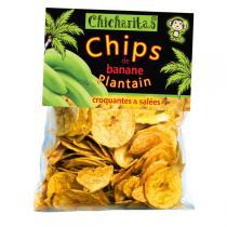 Chicharitas - Chips de banane plantain bio 85g