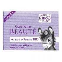 Cosmo Naturel - Savon Lait d'Anesse Lavande Bio 100g