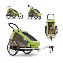 Croozer - Remorque Vélo Enfant Kid For 2 2016 Vert