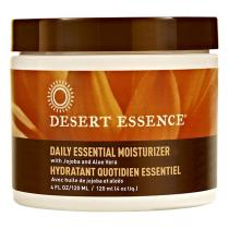 Desert Essence - Creme hydratante jojoba,aloe vera pour peau normale 120ml