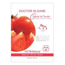 Doctor Sloane - Masque Coton Imbibé Aux Extraits De Tomate