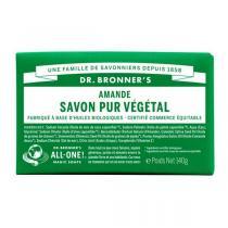 Dr Bronner's - Pain de savon amande 140 g