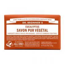 Dr Bronner's - Pain de savon eucalyptus 140 g