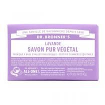 Dr Bronner's - Pain de savon lavande 140 g