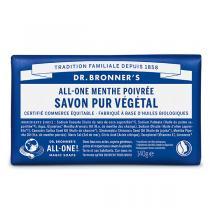 Dr Bronner's - Pain de savon Menthe 140g