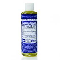 Dr Bronner's - Savon liquide menthe poivrée 236 ml