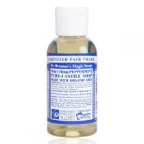 Dr Bronner's - Savon liquide menthe poivrée 59 ml
