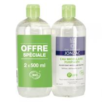 Eau Thermale Jonzac - Lot de 2 eaux micellaires purifiantes 2 x 500ml