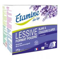 Etamine du Lys - Lessive poudre Lavandin 2kg
