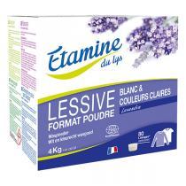 Etamine du Lys - Lessive poudre Lavandin 4kg