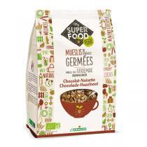Germ'line - Muesli de céréales germés chocolat - noisette 350gr