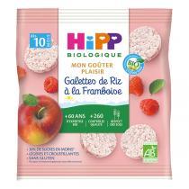 HiPP - Galettes de riz à la framboise 30g