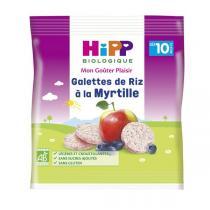 Hipp - Galettes de Riz à la Myrtille 30g