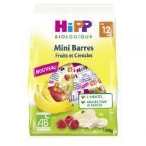 Hipp - Mini barres Fruits et Céréales 100g