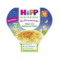 HiPP - 1 assiette Pâtes 123 Potiron et Crème 230g
