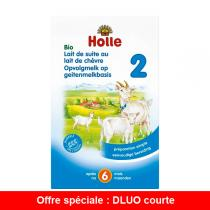Holle - Lait de Suite au Lait de Chèvre Bio dès 6 mois 400g