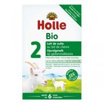 Holle - Lot de 4 boites Lait de Suite au Lait de Chèvre Bio dès 6 mois