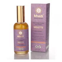Khadi - Huile ayurvédique Violette 100ml