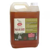 La Droguerie écologique - Savon noir liquide Huile d'olive bio 5L