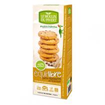 Le Moulin du Pivert - Biscuits bio Equi'libre Petit Epeautre Choc 150g