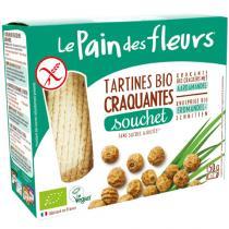 Le pain des fleurs - Tartines craquantes au Souchet 150g