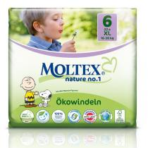 Moltex - Pack 8x22 Couches Eco-XL T6 Moltex 16-30 kg