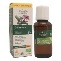 NatureSun Aroms - Huile Essentielle Géranium BIO 30mL