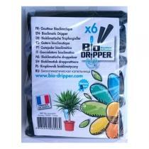 Bio Dripper - 6 x Goutte à goutte Bioclimatique plantes vertes