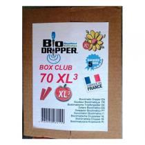Bio Dripper - 70 x Goutte à goutte Bioclimatique Potager XL3