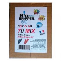Bio Dripper - 70 x Goutte à goutte panaché Potager XL3 et plantes vertes
